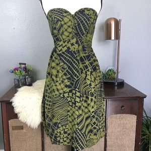 NWT Anthro Maple Sikkim Stitches quilted pocket